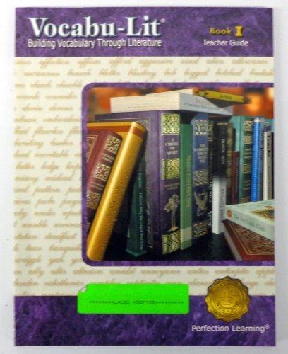 9780789156549: Vocabu-lit : Building Vocabulary Through Literature, Book I : Teacher Guide (Book I)