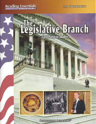 9780789162434: The Legislative Branch (Reading Essentials in Social Studies)