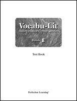 9780789164292: Vocabu-Lit Book E Test Book (Vocabu-Lit, Book E)