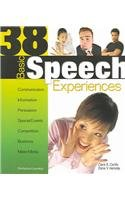 9780789164346: 38 Basic Speech Experiences, 11th Edition