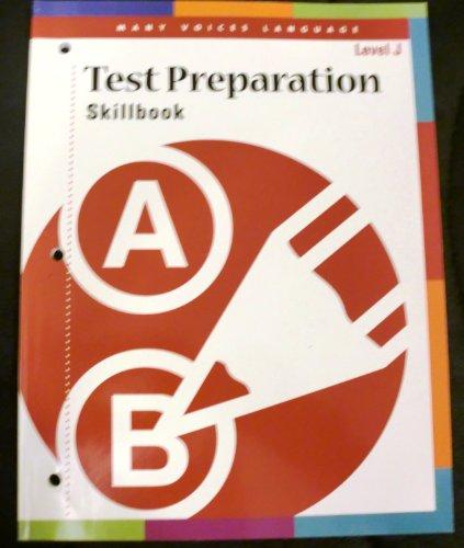 9780789169792: Test Preparation Skillbook Level J (Many Voices Language, Level J)