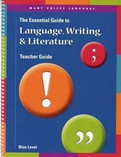 9780789170385: Many Voices Language Essential Guide to Language, Writing, and LIterature TE