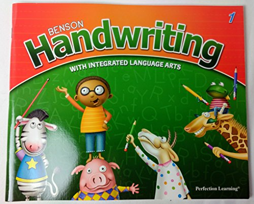 9780789178824: Perfection Learning -Benson Handwriting with Intergrated Language Art 1