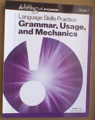 9780789179098: Writing with Power Grade 7 (Student Resources Language Skills Practice, Grammar, Usage, and Mechanics)