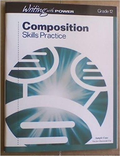 9780789180148: Composition Skills Practice (Writing with Power Grade 12)
