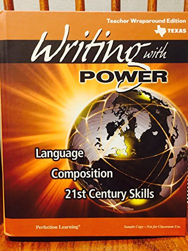 9780789180469: Writing with Power: Language, Composition, 21st Century Skills, 9th Grade Teacher Edition