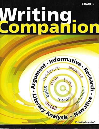 Common Core Writing Companion - Grade 5