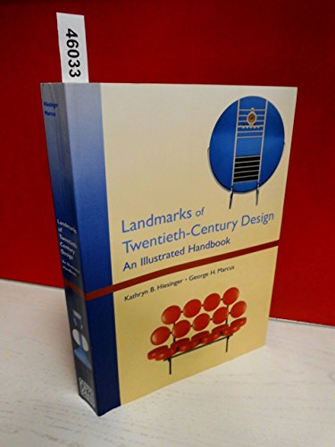 9780789200082: Landmarks of Twentieth-Century Design: An Illustrated Handbook