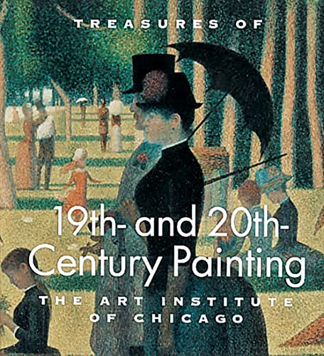 9780789204028: Treasures of 19th- and 20th-Century Painting: The Art Institute of Chicago (Tiny Folios Series)