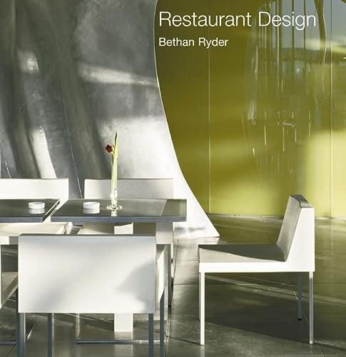 Restaurant Design.: Ryder, Bethan.