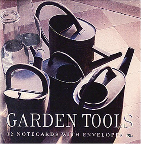 Garden Tools Square Notecard Wallet