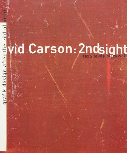 9780789301277: David Carson, 2nd Sight: Grafik Design After the End of Print