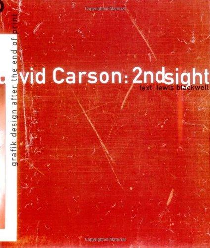 9780789301284: David Carson, 2nd Sight: Grafik Design After the End of Print