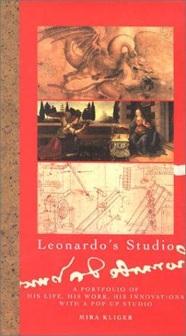 9780789303875: Leonardo's Studio: A Portfolio of His Life, His Work, His Innovations With a Pop-Up Studio