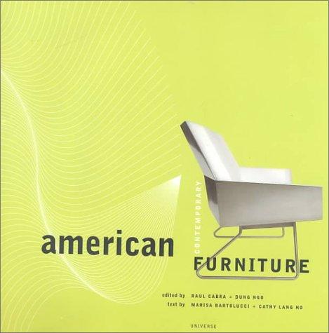9780789304353: American Contemporary Furniture
