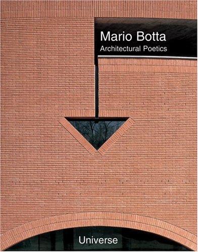 9780789305466: Mario Botta: Architectural Poetics (Universe Architecture Series)