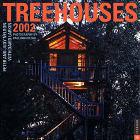 Treehouses 2002 Wall Calendar (0789305844) by David Larkin; Judy Nelson; Peter