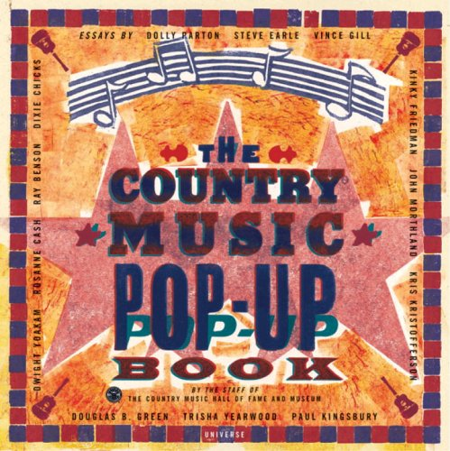 9780789309808: Country Music Pop-up Book (Country Music Hall of Fame)
