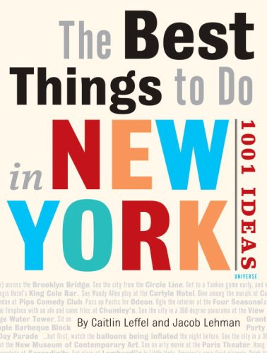 9780789313980: New York Unlimited: The 1001 Best Things to Do in New York City