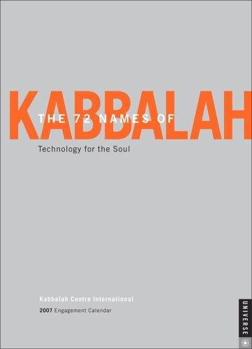 9780789314062: The 72 Names of Kabbalah 2007 Engagement Calendar