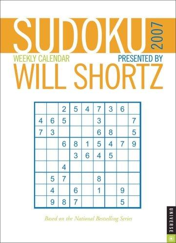 9780789314888: Sudoku by Will Shortz 2007 Engagment Calendar