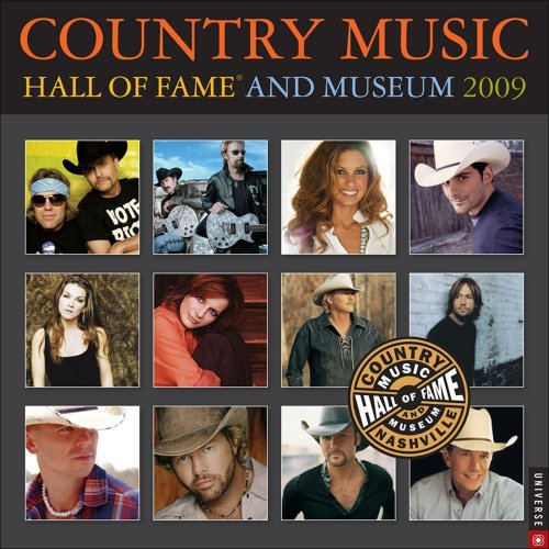 9780789317346: Country Music Hall of Fame and Museum: 2009 Wall Calendar