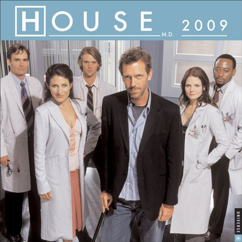 9780789317452: House, MD Official 2009 Calendar -Square Wall: