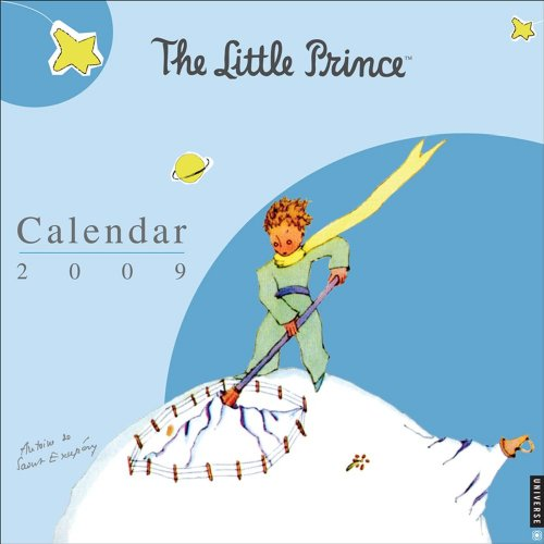 9780789317520: The Little Prince: 2009 Wall Calendar