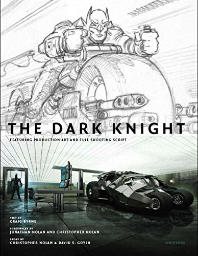 9780789318121: The Dark Knight: Featuring Production Art and Full Shooting Script