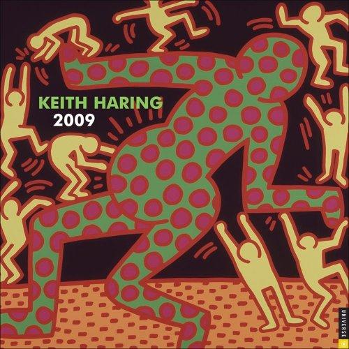 9780789318206: Keith Haring: 2009 Wall Calendar