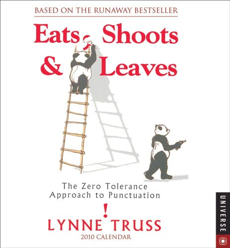 9780789319036: Eats, Shoots, and Leaves:: The Zero Tolerance Approach to Punctuation 2010 Day-to-Day