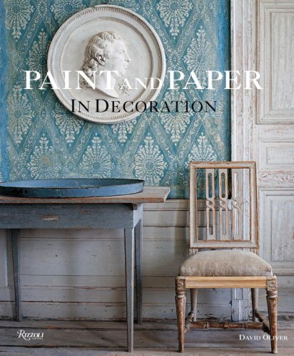 Paint and Paper: In Decoration: Oliver, David