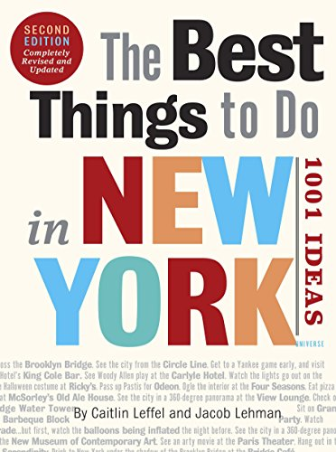 9780789320261: The Best Things to Do In New York: 1001 Ideas