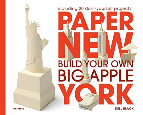 9780789320797: Paper New York: Build Your Own Big Apple