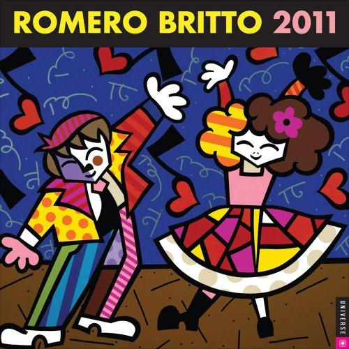 9780789321336: Romero Britto: 2011 Wall Calendar