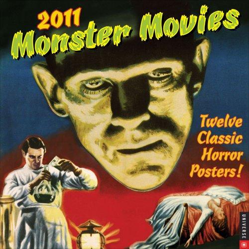 9780789321626: Universal Classic Monster Movies 2011 Calendar