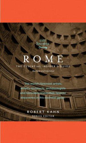 9780789322432: City Secrets Rome: The Essential Insider's Guide
