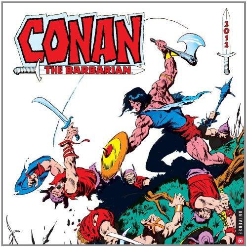 9780789323347: Conan the Barbarian: 2012 Wall Calendar