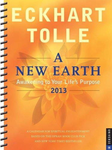 9780789325174: A New Earth 2012-2013 Engagement Calendar