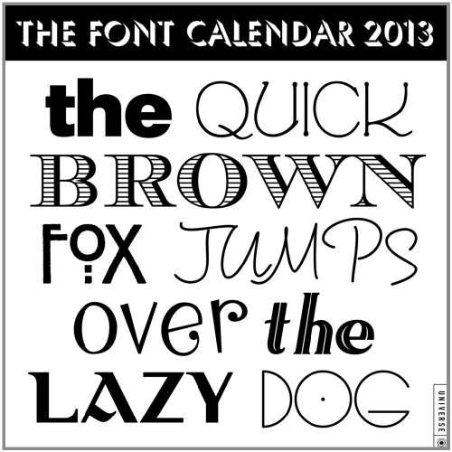 9780789325686: Quick Brown Fox Jumps Over 2013 Wall