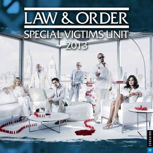 9780789325822: Law & Order 2013 Wall Calendar: Special Victims Unit