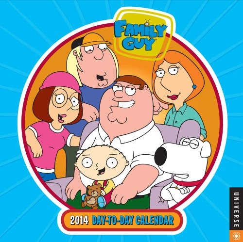 Family Guy 2014 Day-to-Day Calendar: Fox