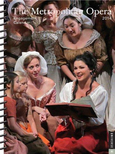 9780789326188: Metropolitan Opera 2014 Desk Diary