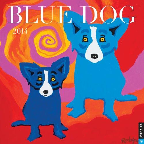 9780789326294: Blue Dog 2014 Wall Calendar