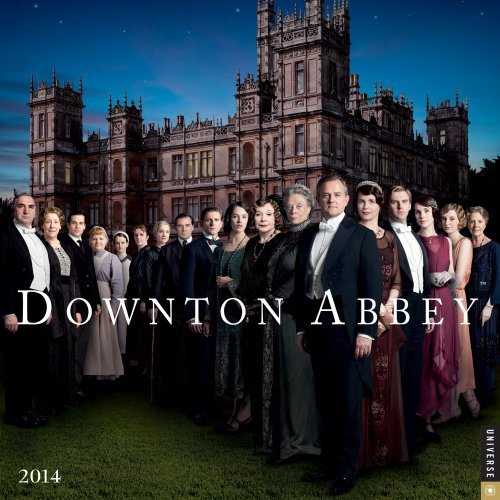 9780789326362: Downton Abbey 2014 Wall Calendar
