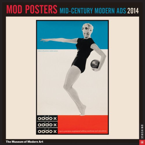 9780789326430: Mid Century Modern Posters 2014 Wall