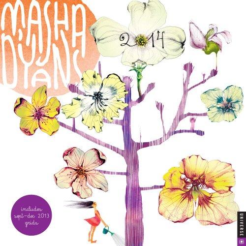 9780789326515: Masha D'yans 2014 Calendar