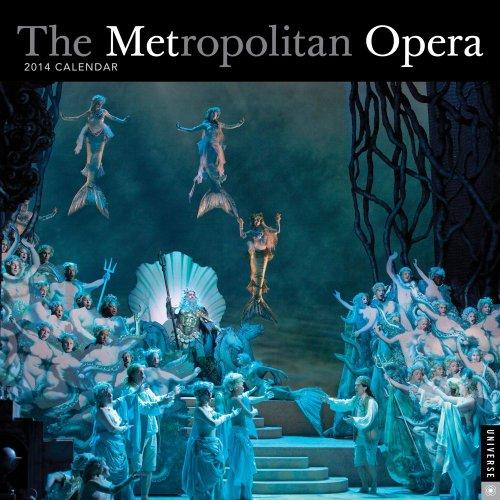 9780789326522: The Metropolitan Opera 2014 Wall Calendar