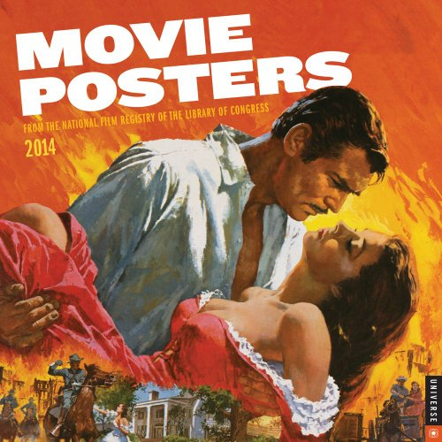 9780789326584: Movie Posters 2014 Wall Calendar: From the National Film Registry of the Library of Congress