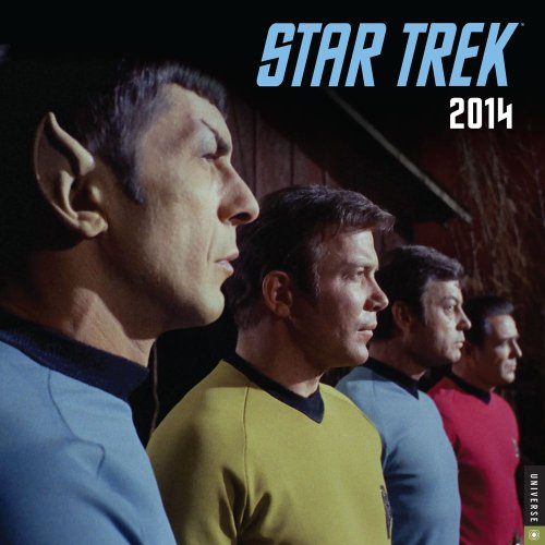 Star Trek 2014 Wall Calendar: The Original Series: Cbs